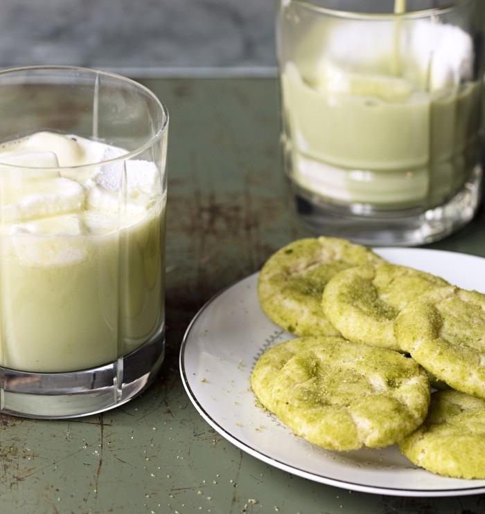 matcha tea snickerdoodles