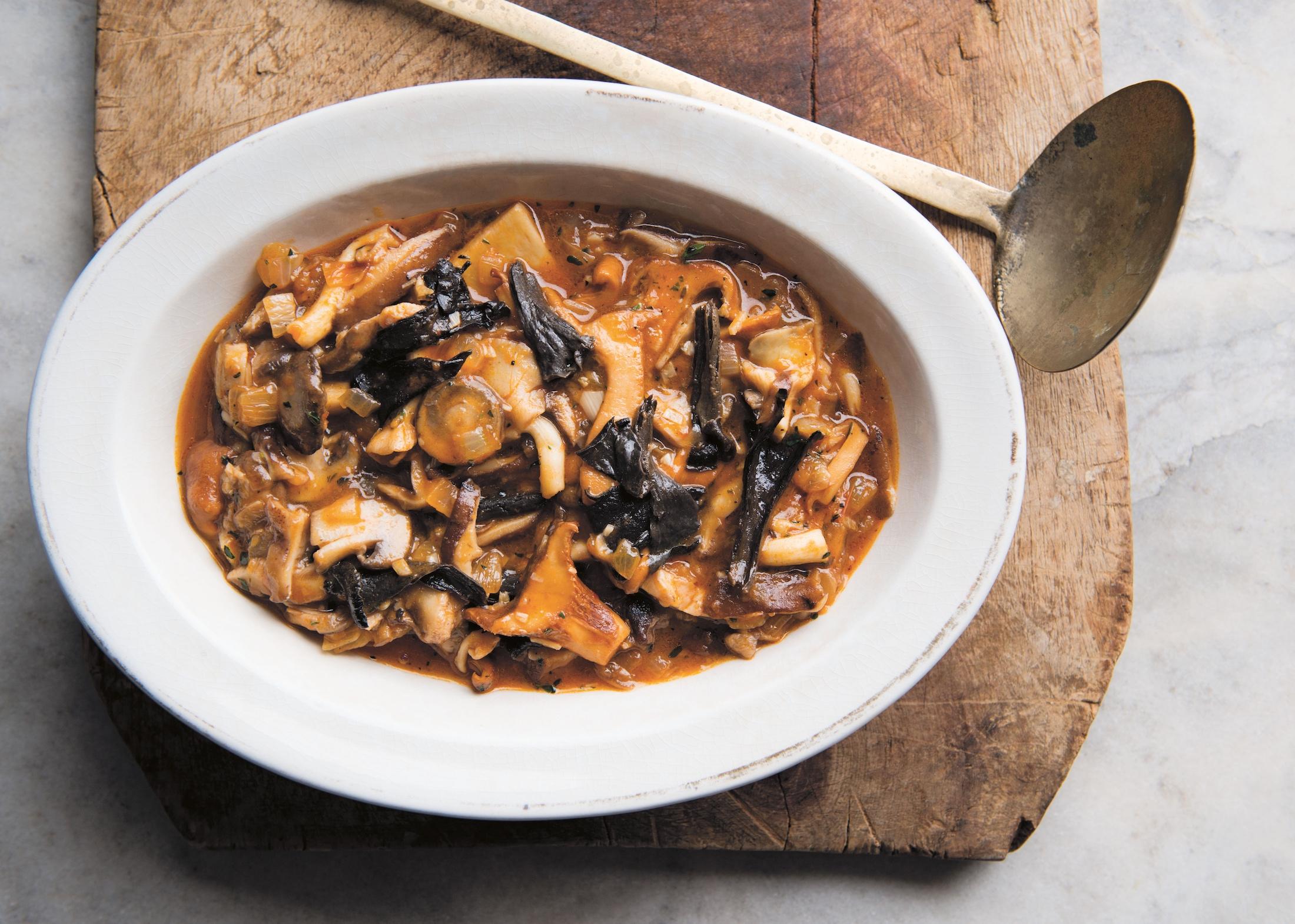 simply perfect  make david tanis u0026 39  mushroom ragout