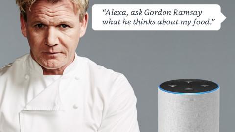 Alexa's Gordon Ramsay