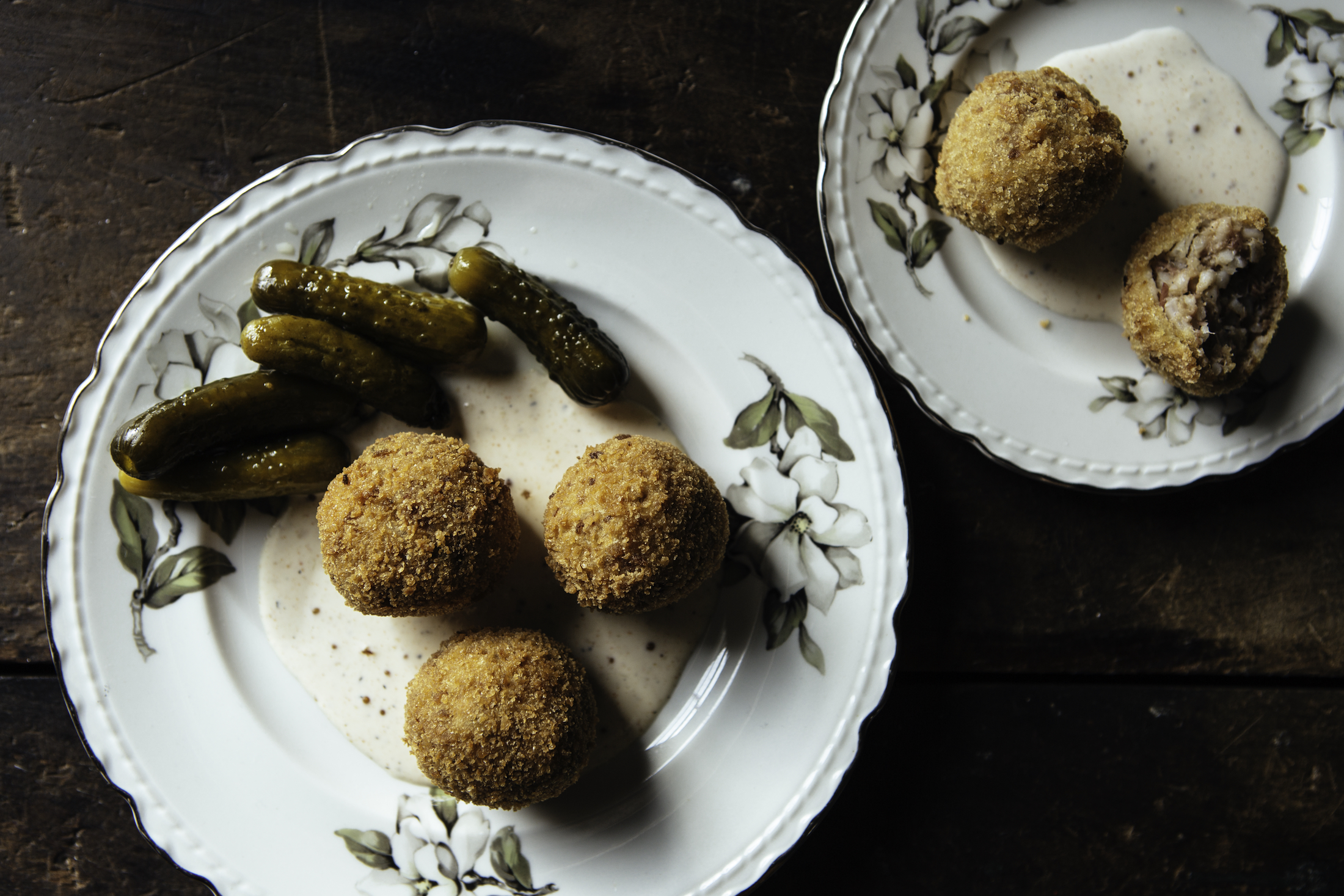 Quintessential Southern Dip These Deep Fried Boudin Balls