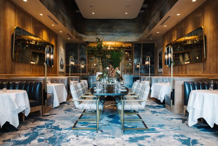 dining room at C. Ellet's