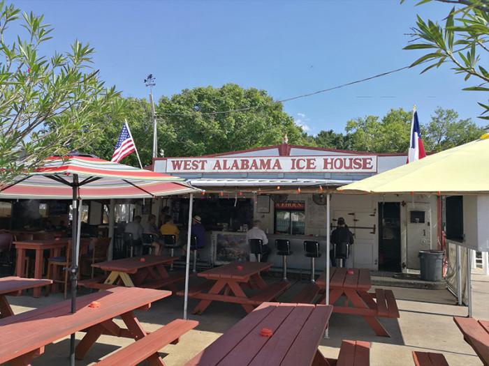 COURTESY WEST ALABAMA ICE HOUSE.